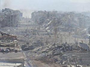 Yarmouk refugee camp May 21 2018