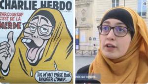 Charlie Hebdo & Maryam Pougetoux May 30 2018