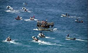 Gaza flotilla May 29 (Quds News Network) May 29 2018