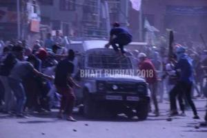 Kashmir death of Qaiser Amin(Bhatt Burhan) June 1 2018