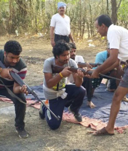 Representative image of Bajrang Dal camp (ANI) May 28 2018