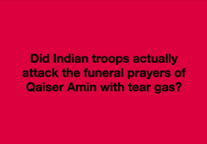 Troops at Qaiser Amin funeral meme June 3 2018
