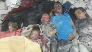 Yarmouk victims buried in rubble (ActionPal) May 30 2018