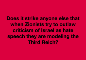 Zionism and Third Reich meme May 30 2018