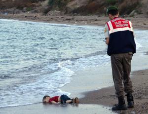 Alan Kurdi 3 yr old Sept 2 2015 ( (AFP:Getty Images)