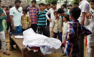 Body of Akbar Khan (Photo from NDTV) July 23 2018