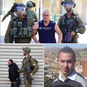 Disabled Palestinians assaulted by IOF July 22 2018