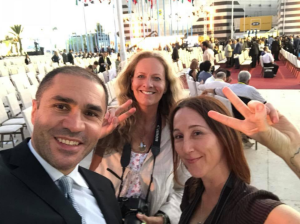Fares Shehabi with Bartlett & Beeley at 2018 fair Sept 11 2018