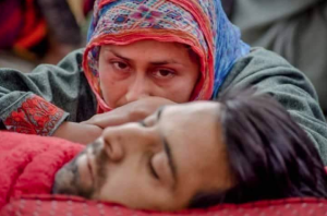 Funeral of Rouf Ahmad Ganaie in Kashmir (I support Palestine and Kashmir) Sept 15 2018