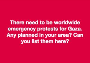 Gaza protest meme July 22 2018