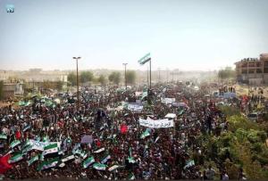 Idlib protest Sept 14 2018