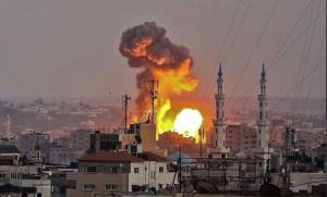Israeli bombing of Gaza July 20 2018 (Shehab News) July 21 2018