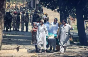 Kashmiri funeral (Soan Kashmir) Sept 9 2018