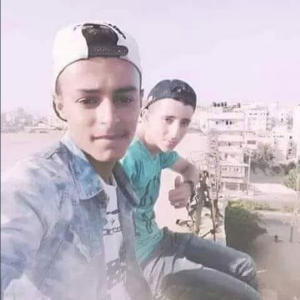 Loay and Ameer in Gaza July 18 2018