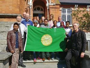 Michael Clinton & Rohingya activists in Ireland Sept 5 2018