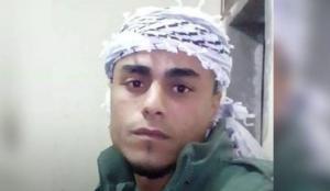 Moh. Z Airimawi (24) (Basem Naim) near Ramallah Sept 18 2018