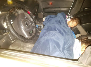 Palestinian children sleeping in cars after home demolitions Sept 4 2018
