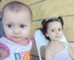 Two of 6 Syrian children killed in Idlib Sept 4 2018 (Tweeted by Aisha Zara) Sept 5 2018